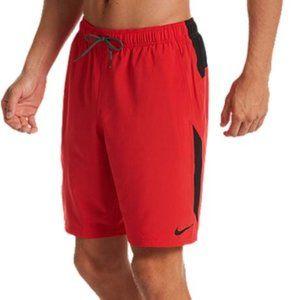 Nike Red Swim Shorts/Trunks
